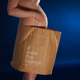 Babybauch Fotoshooting: wear the change von apj.de