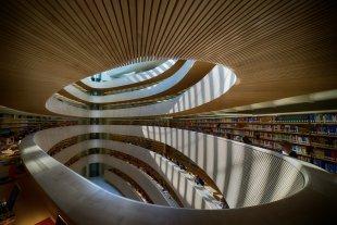 Calatrava- Bibliothek von Secundannte