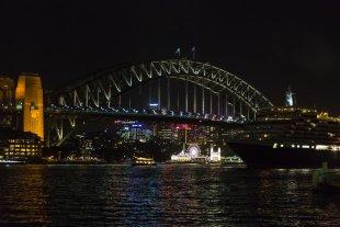 Harbour Brigde - Nachts von clickfux