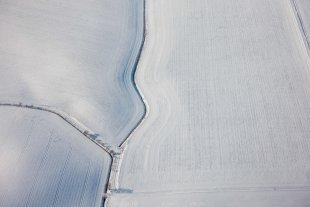 Luftgrafik Winter von Joachim Kopatzki