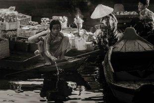 Floating Village Kambodscha 4 von Andrea Künstle