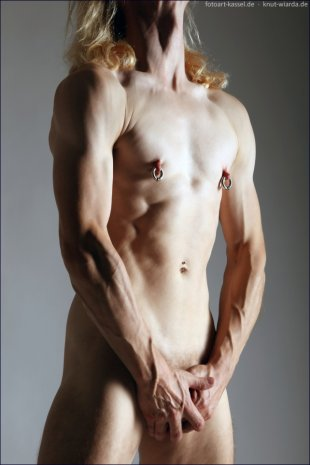 male body with piercings von Deca-Dence