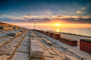 Sonnenuntergang auf Baltrum von Serky