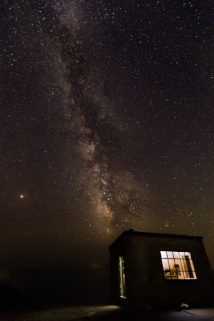 MilkyWay Factory von Peter Berg Photography