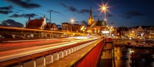 Stettin bei Nacht von SKuhnaPictures