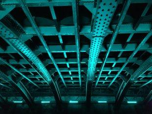 Blauer Stahl von papperlapam