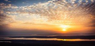 Sonnenaufgang von David Alberts