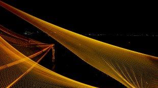 Fischernetze bei Nacht II von snuecke