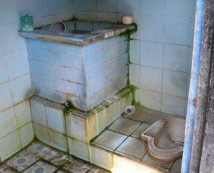 Toilette, Bali 6 von RüdigerLinse
