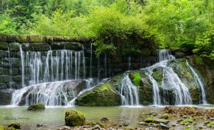 Wasserkaskaden von Penusi