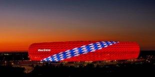 Alianz Arena zum 119 Geburtstag von Lightart-munich