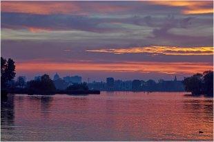 Nach Sonnenuntergang III von pewebe