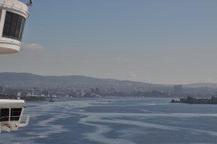 Blick auf Oslo ; Oslofjord von Caruso nizinny