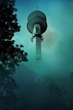 Funkturm in Greven von Dirk Schoppmeier
