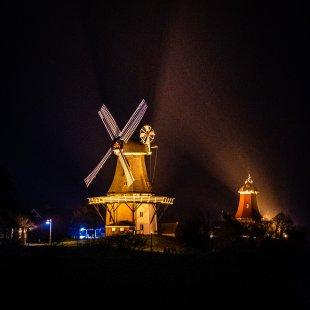 Windmühlen Greetsiel von M.Schröder