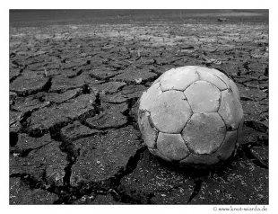 Blühende Landschaften 1- Fußball von Deca-Dence