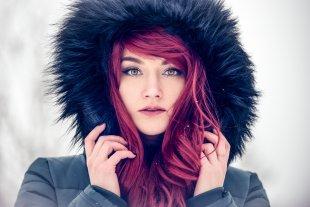 Red Hair Winter Fashion von SailerWatchBlog