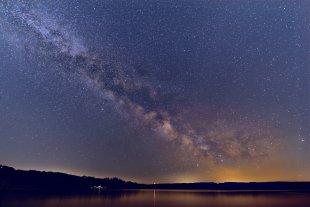 Nachts am Möhnesee (2) von Schmelly