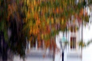 Herbst-Fassade von Labilla