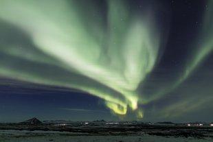 Nordlicht (Aurora borealis) II von Pham Nuwem