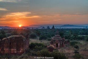 Bagan Sonnenuntergang, Myanmar von Joachim Kopatzki