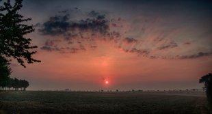 Ein strahlender Morgen. von Nenali
