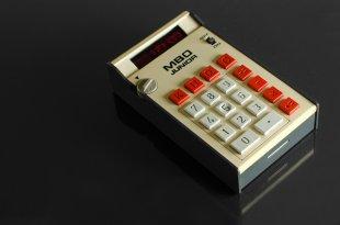 mein erster Taschenrechner von WSCU-Foto
