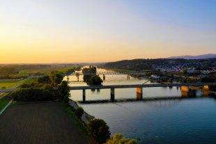 Donaubrücke Deggendorf von simonwaldherr