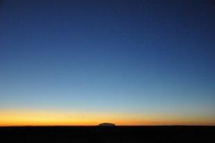 Sonnenaufgang am Uluru von Elmquist
