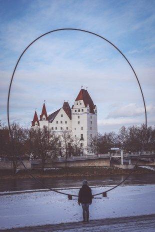 Ingolstadt - das Schloss an der Donau von cybertom22