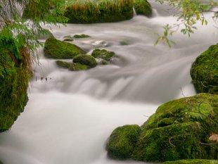 Wasserfall Österreich Langzeitbelichtung von V0SSI