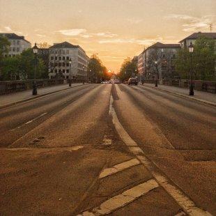 Straße zum P1 von mzed2k