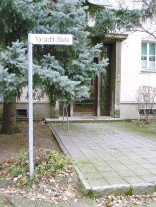 Sonderbarer Straßenname von AUde-Vide