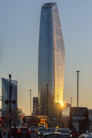 London bei Sonnenuntergang von hafrado