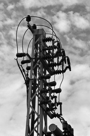Strommast von Wolfgang Görgen