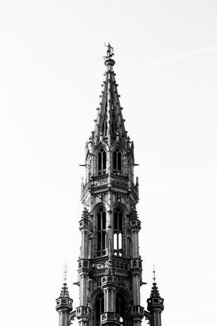 Brüssel Rathaus von Jim Vegas