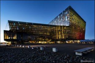 Harpa Concert Hall Reykjavik von Stefan Bock