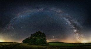 Panorama zur Perseiden Nacht von Frenchi81