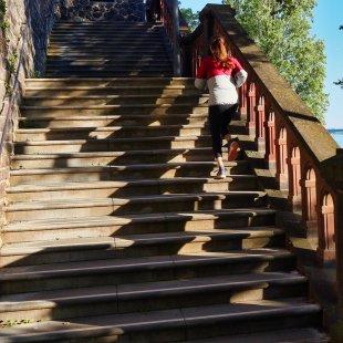 Der Treppenlauf von Wolfgang Görgen