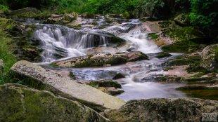 Langzeitbelichtung Harz Wasserfall von V0SSI