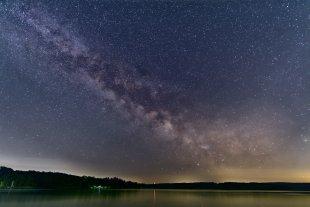Nachts am Möhnesee von Schmelly