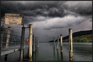 Gewitter am Sarnersee von Martin Kristiansen
