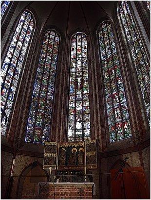 Lichtstimmung im  Dom St. Nikolaus, Stendal von calvin&hobbes