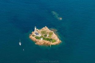 Leuchtturm Ile Louët, Bretagne von Joachim Kopatzki