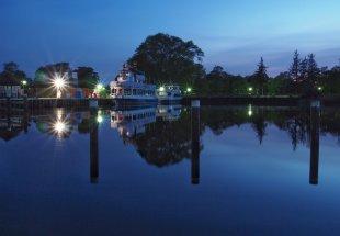 Nachts am Hafen von Karin.M