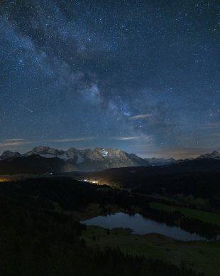 Karwendel und Milchstraße von Tarcitaxx