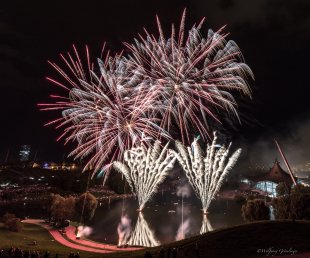 Sommerfest Olympiapark München von Groessi