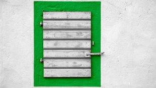 Grünes Fenster von achimbitzer