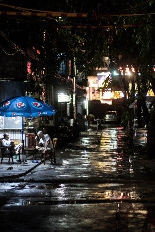 Abendstunden in China von bermudez