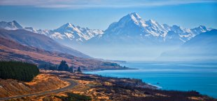 Mount Cook Panorama von Thomas-Weinsheimer